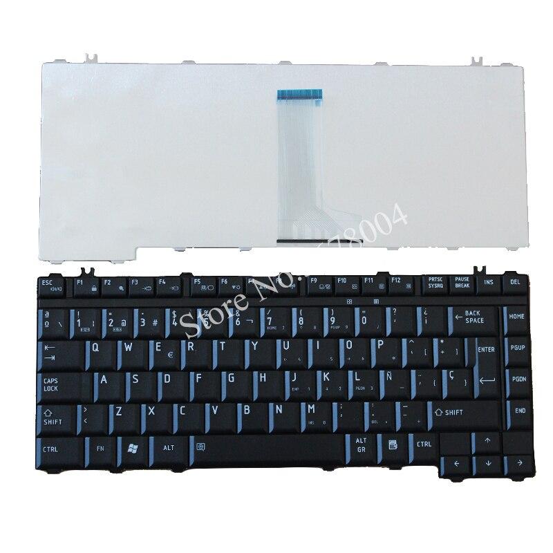 NEW SP for Toshiba L300 L305 L305D M300 L510 L515 M336 M352 Spanish Laptop Keyboard|laptop keyboard|for toshiba|laptop keyboard spanish - title=