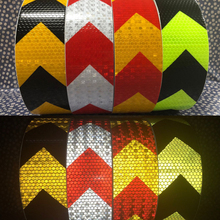 5cm X25m Reflective Warning Tape with Printing for fairways truck motorcycle bicycles safety