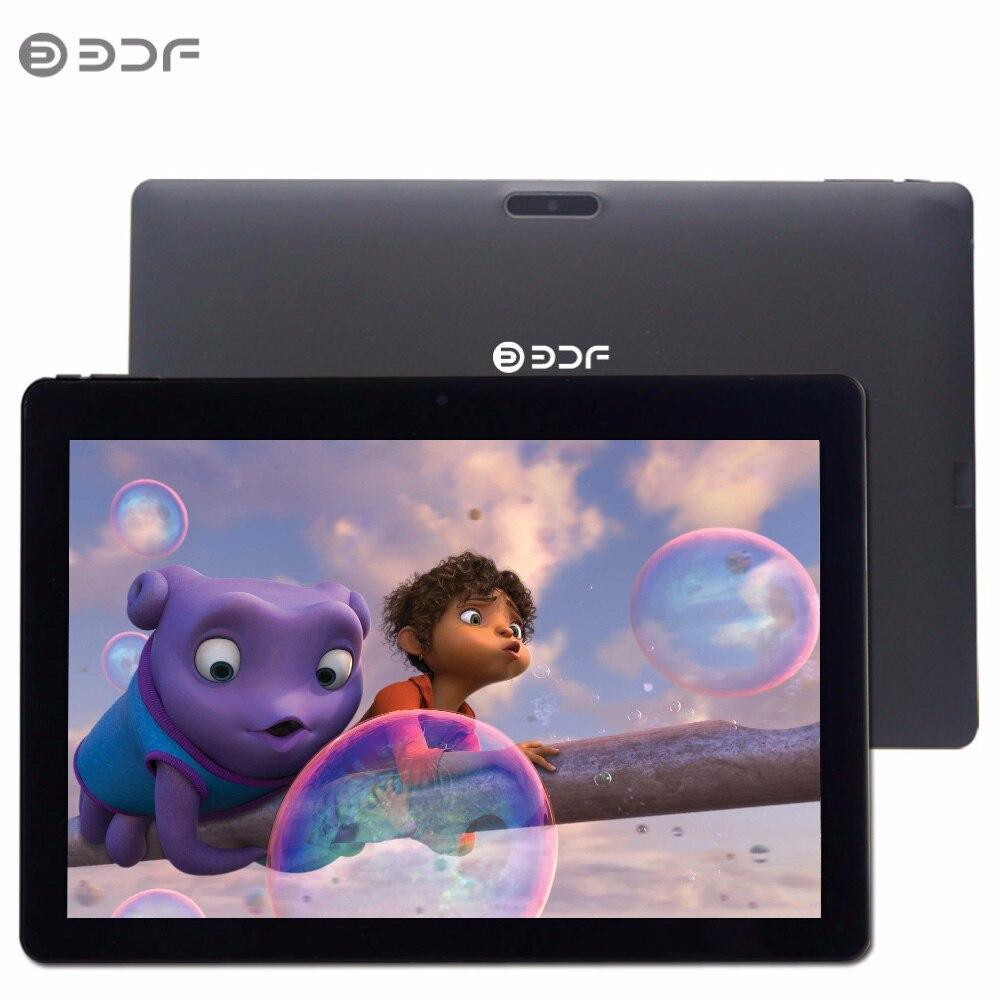 (Le bateau de RU) BDF 10 pouce D'origine Android 6.0 Tablet Pc IPS 1 GB RAM + 32 GB ROM Soutien vidéo WIFI Bluetooth Quad Core 1280*800