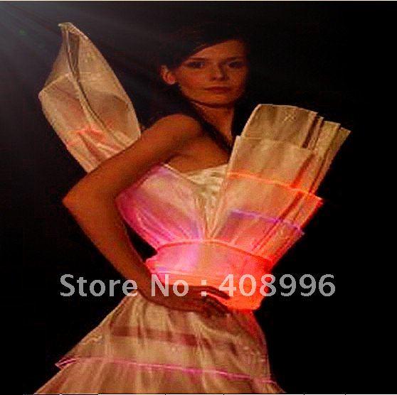 a681844973a La fiber optique lumineuse tenue officielle pour la robe de soirée robe de  mariée robe de bal défilé de mode royal de mariage robes o2 dans Salle de  bal de ...