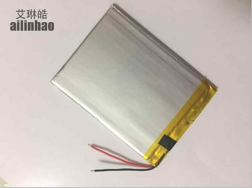 Ailinhao упаковка универсальных батареек для Texet TM-7096 TM-7049 TM-7866 планшет Батарея внутренняя 3000 мАч 3,7 в полимерный литий-ионными типами + отслеживание посылки