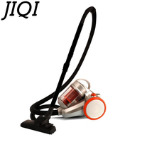 JIQI Electric Vacuum Cleaner Brush Rod Dust Mite Controller Sweeper Aspirator Handheld Dust Catcher Household Low