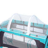 Crib Mosquito Net For Newborn Toddler Infant Baby Crip Netting With Bracket For Baby Cot Summer Household Anti mosquito Z869