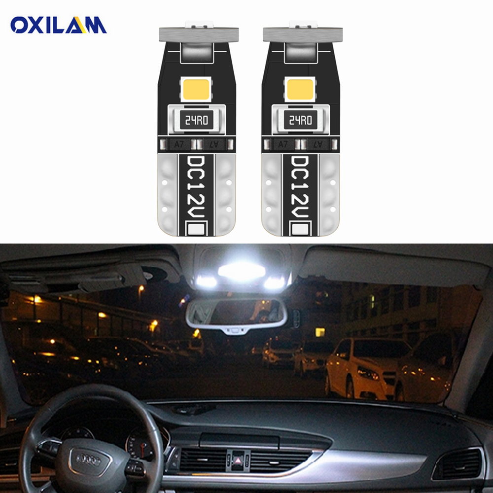 2pcs T10 W5W <font><b>LED</b></font> Car Interior Light For <font><b>Nissan</b></font> Note Qashqai J10 J11 Teana J32 J31 Juke Tiida Versa Pathfinder <font><b>x</b></font> <font><b>trail</b></font> <font><b>T32</b></font> T31 image