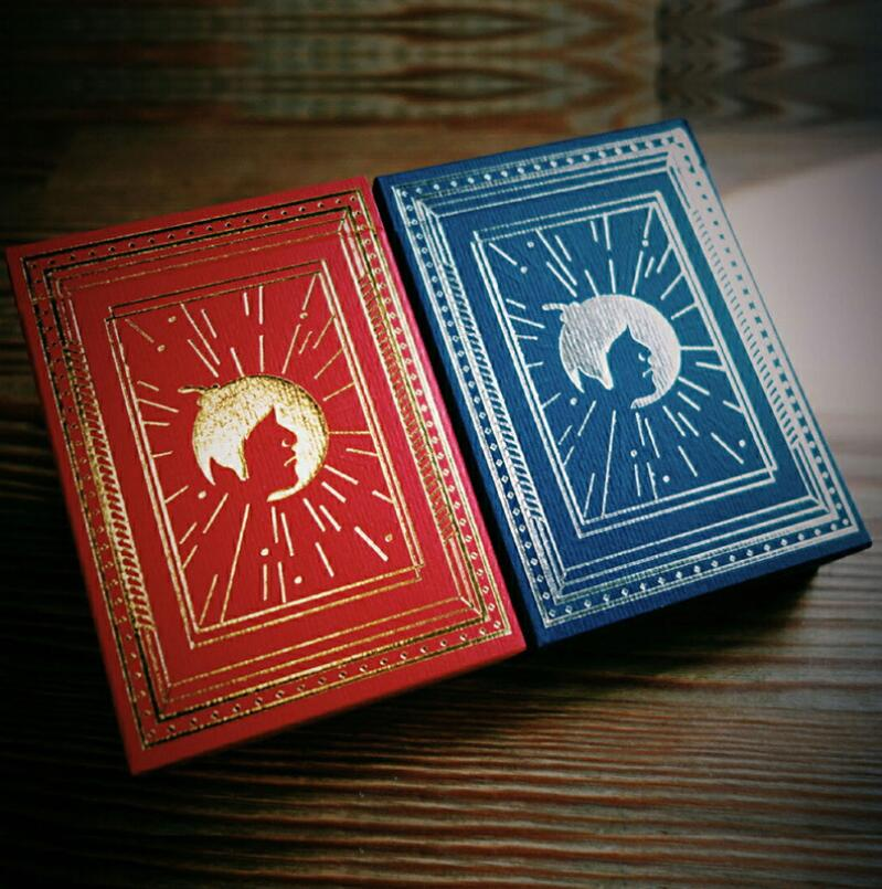 Bomber Boîte Ensemble Cartes À Jouer Poker Taille Collection Fleur Coupe Pont Magique Des Tours de Magie
