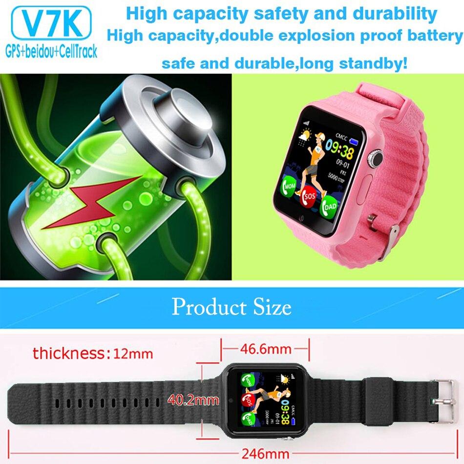 Kids Smart Watch Tracker GPS Watch Waterproof