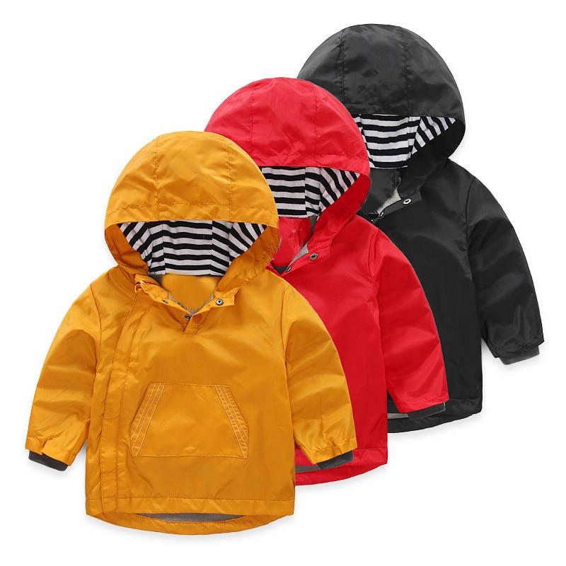 Children Clothing Autumn Winter Outerwear Jackets Kids Fleece Pizex Baby Boys Solid Cartoon Topcoat Boys Fashion