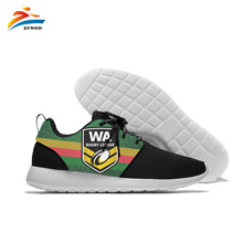 Custom Names High-top Vulcanize Shoes Casual Lace-up Canvas Shoes for Men Students Flat Shoes Cool Cats Rugby League Print Flats instntarts universe star women casual flats shoes cool animal purple wolf print woman s high top vulcanize canvas shoes sneakers