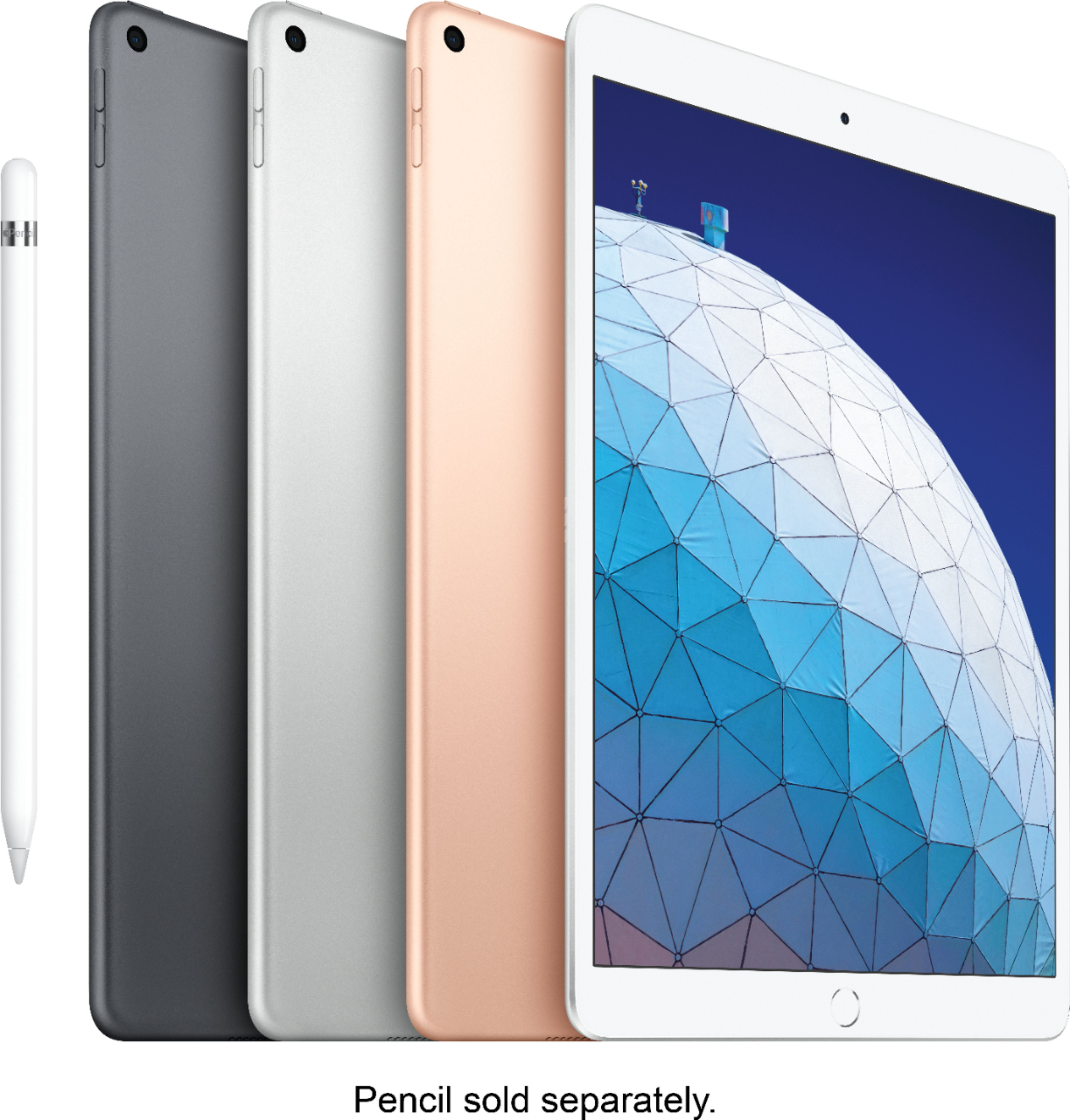 New Apple iPad Air 2019 10.5 Retina Display A12 Chip TouchID Super Portable Supporting Apple Pencil IOS Tablet Super Slim image
