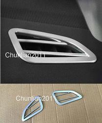 Wewnątrz górny wylot odpowietrznika pokrywa tapicerka dla Subaru Outback 2015-2018 2 sztuk