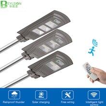 BEYLSION 20 Вт 40 Вт 60 Вт Светодиодный уличный фонарь на солнечной батарее, лампа на солнечной батарее, уличный светильник, солнечный садовый светильник, уличный светодиодный светильник на солнечной батарее, PIR датчик