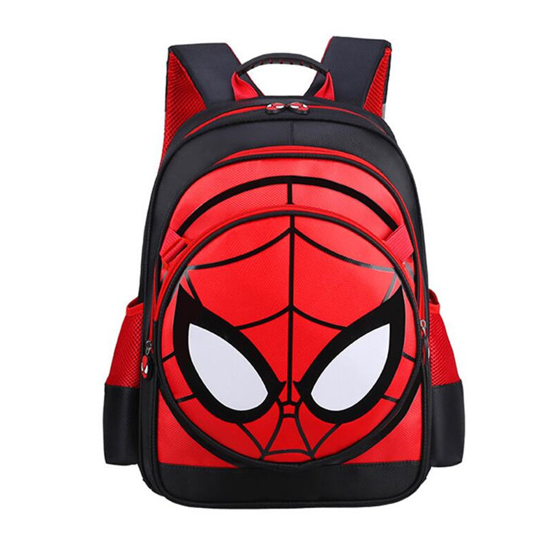 kids spiderman school bag primary school backpack for boy child book bag elementary school bags for teenage boys dropshipping inclusion for primary school teachers