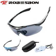 Robesbon uv 400 de bicicletas ciclismo gafas gafas de sol de los hombres gafas de ciclismo masculino bicicleta de gafas gafas de grau