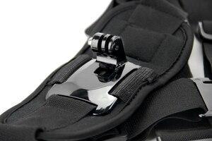 Image 5 - SnowHu per accessori Gopro adattatore per imbracatura pettorale per montaggio su tracolla per Go Pro hero 9 8 7 6 5 per fotocamera Yi 4K Sj4000 GP199