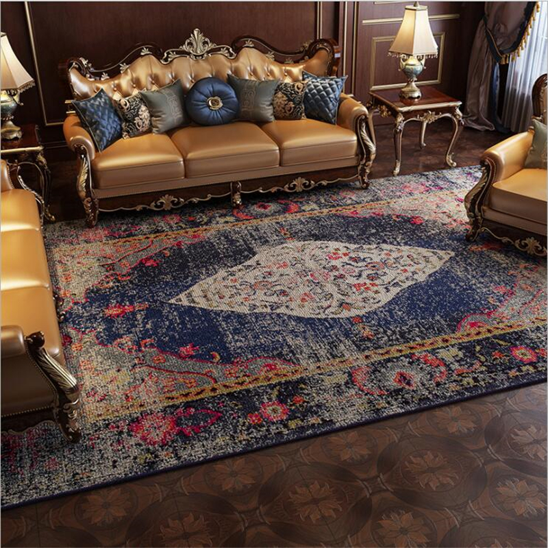 2019 New Thicker Persia Carpets For Living Room Bedroom Rugs Home Carpet Floor Door Mat Delicate Area Rugs Mats Large Carpet
