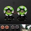 Acessórios da motocicleta quadro buraco decoração capa para kawasaki z800 2013-2016 verde