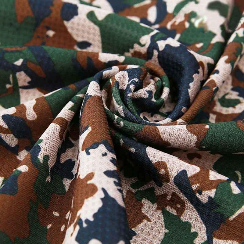 Verão Natação Toalha de Secagem rápida Camuflagem Multi-Cor Leve Reutilizáveis Respirável Atlético Legal Toalhas Molhadas