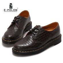 Мужские кожаные туфли Повседневное Новый 2017 Пояса из натуральной кожи Обувь Для мужчин Оксфорд модные модельные туфли на шнуровке Открытый Рабочая обувь Sapatos