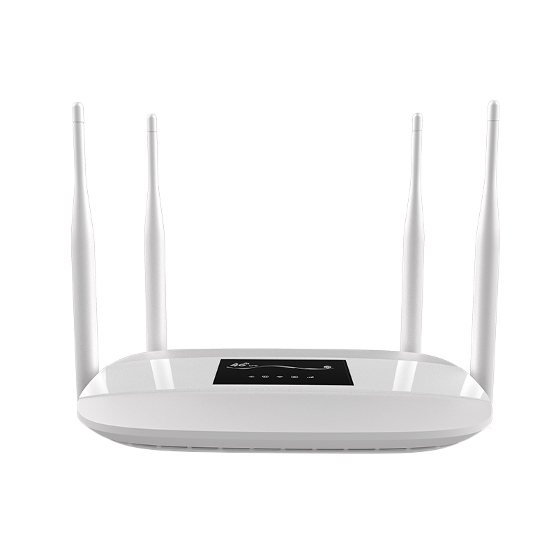 116O 3G 4G Router Cpe Wifi Repeater Modem Broadband Wireless Router High Gain External Antenna Home Office Router With Sim Sol in Wireless Routers from Computer Office