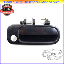Front Right Outside Door Handle FR Black For Toyota Camry 1992 1993 1994 1995 1996 69210-33010 6921033010 Passenger 2.2L 3.0L(China)