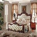 2015 king size luxury european bed/bedroom furniture/bedroom set MS107