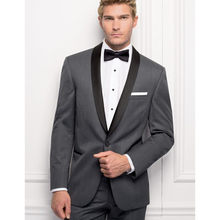 2018 nuevos hombres por encargo Trajes slim fit novio Esmoquin gris oscuro  traje de boda mejor hombre groomsman traje novio Traj. 68fd757bb4b