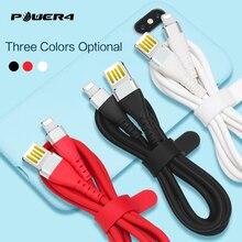 Power4 антифриз USB кабель для iPhone провод для быстрой зарядки для Lightning Quick Charge провод для Apple USB кабель двухсторонний