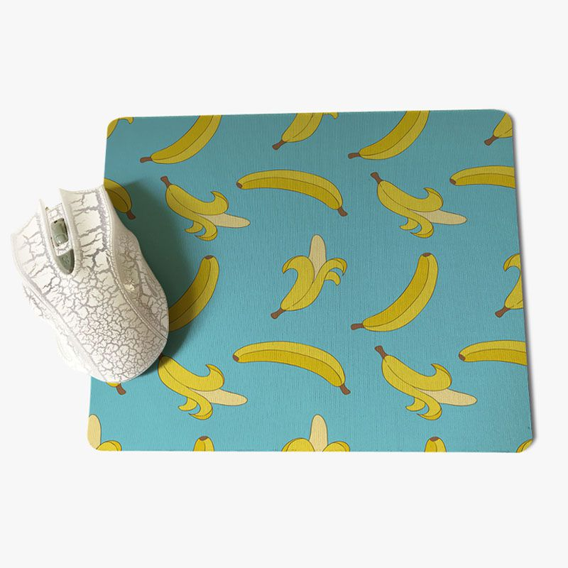 Yinuoda My Favorite Banana Computer Gaming Mousemats Size for 180x220x2mm and 250x290x2mm Rubber Mousemats