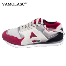 VAMOLASC New Men Sport Running Shoes Breathable Cotton Sneakers Comfortable DMX Outdoor Walking Shoes Cushioning Athletic Shoes