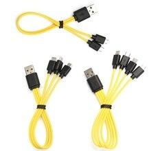 2/3/4 In1 Mini Sạc USB Kiêm Pin Sạc Dự Phòng Cho Samsung Xiaomi HTC Mini USB