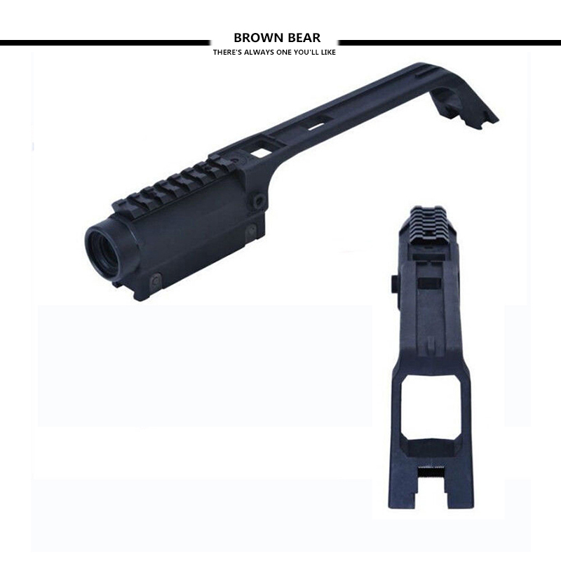 Opaslan G36 Long Scope For Mp5 Metal Gun Air Rifle Sight Optics Weaver Rail Mount Base Handle For Airsoft Hunting Shooting Riflescopes