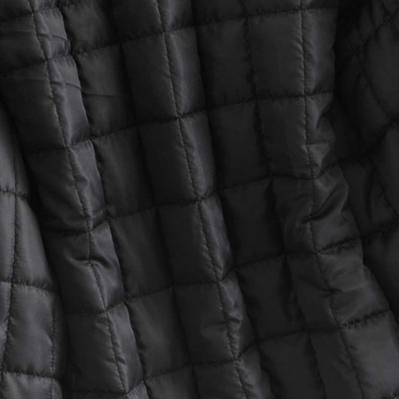 Femmes Cordon Épais Femelle Veste 2018 Casual Poche À Col Capuchon Survêtement Rembourré Hiver De Chaud Épaissir Manteau Noir Parkas Fourrure gxzB8w