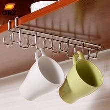 Stainless Steel Kitchen Storage Rack Cupboard Hanging Hook