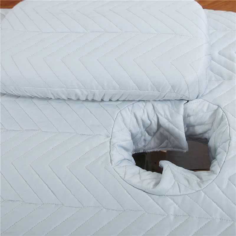 Вискозное жаккардовое покрывало для гостиной 1 шт. массажное покрывало Spa beauty Fumigation комплект постельных принадлежностей Встроенная кровать покрывало