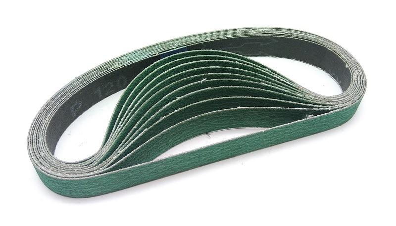 NEW 10pcs 520*20mm Zirconium Corundum Belt Abrasive Sanding Belt For Metal Belt Grinder 577F
