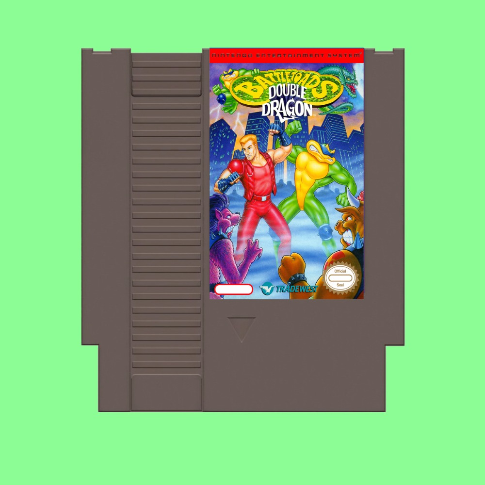 Best Sale Battletoads & Double Dragon Game Card For 72 Pin 8 Bit Game Player