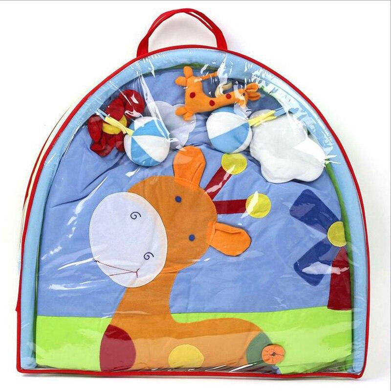 Haute qualité deux types de couverture de jeu de bébé ramper l'éducation précoce Gym jouer bande dessinée Tapete Mat Puzzle jouets cadeau - 6