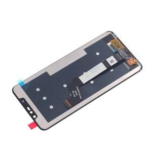 Image 4 - Orijinal lcd Xiaomi Redmi için not 6 Pro lcd ekran dokunmatik ekranlı sayısallaştırıcı grup Redmi için not 6Pro onarım parçaları ile çerçeve