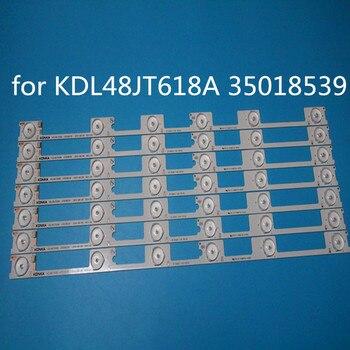 100% NEW neue led-hintergrundbeleuchtung bar streifen for KONKA KDL48JT618A KDL48JT618U 35018539 35018540 6 LEDS (6 V) 442mm
