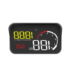 OBDHUD M10 Car HUD Head Up Display Car-styling Display Overspeed Warning Windshield Projector Alarm System Universal Projector