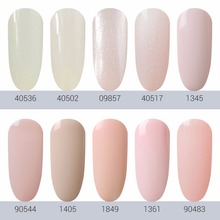 HNM Light Color 8ml Gel Nail Polish Hybrid Semi Permanent Polish UV LED Gel Polish Lucky Gel ink Gel Varnishes Gelpolish GelLak
