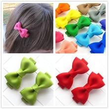 mini ribbon bow baby girls kids hair clips bows accessories for children barrette hairpin hairgrip hairclip headwear headdress