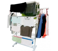 Multifunctional Wet Adjustable Drying Rack Clothes Neckties Hanger Holder Outdoor Organizer shelf home organization and storage