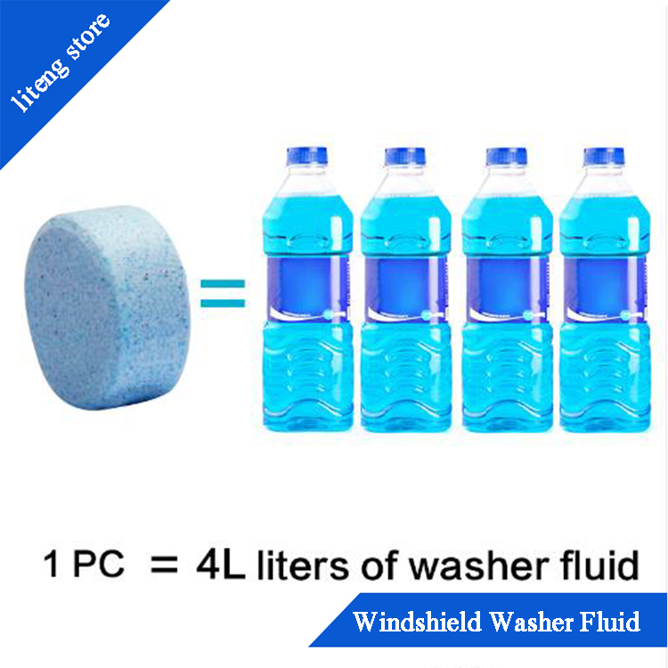 10 piece Car Solid Fluid Concentrate Making Up Wiper Cleaner Washer Auto Window