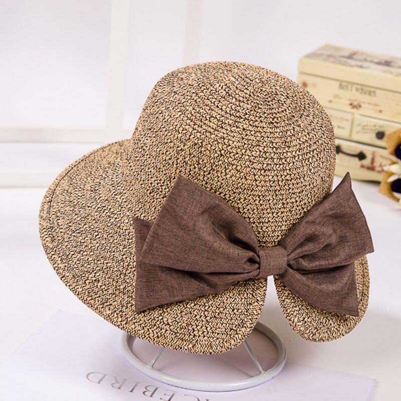2017 Summer hats for women straw hat beach hats for women sun hats wide brim floppy