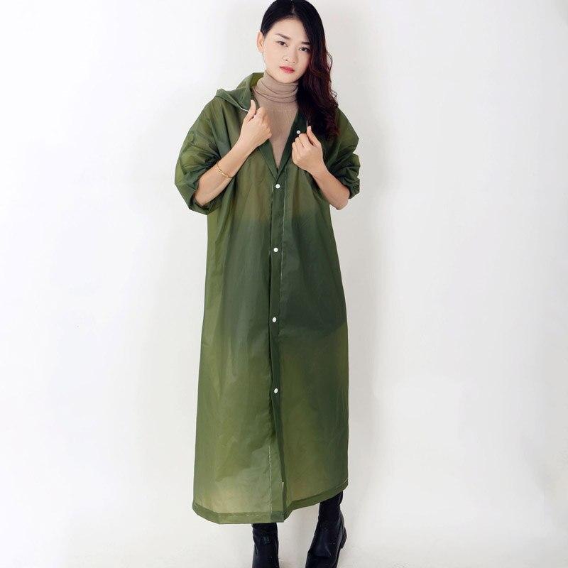 69e0568eee8 Cheap Lluvia Unisex abrigo de muchos colores de luz impermeable gruesa EVA impermeable  de los hombres