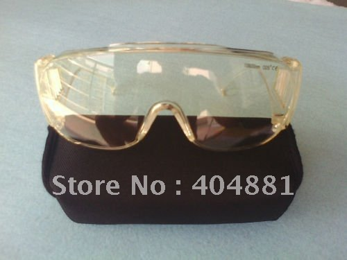 ФОТО Laser safety glasses for 10600nm Co2 laser , CE O.D 5+ VLT>65%