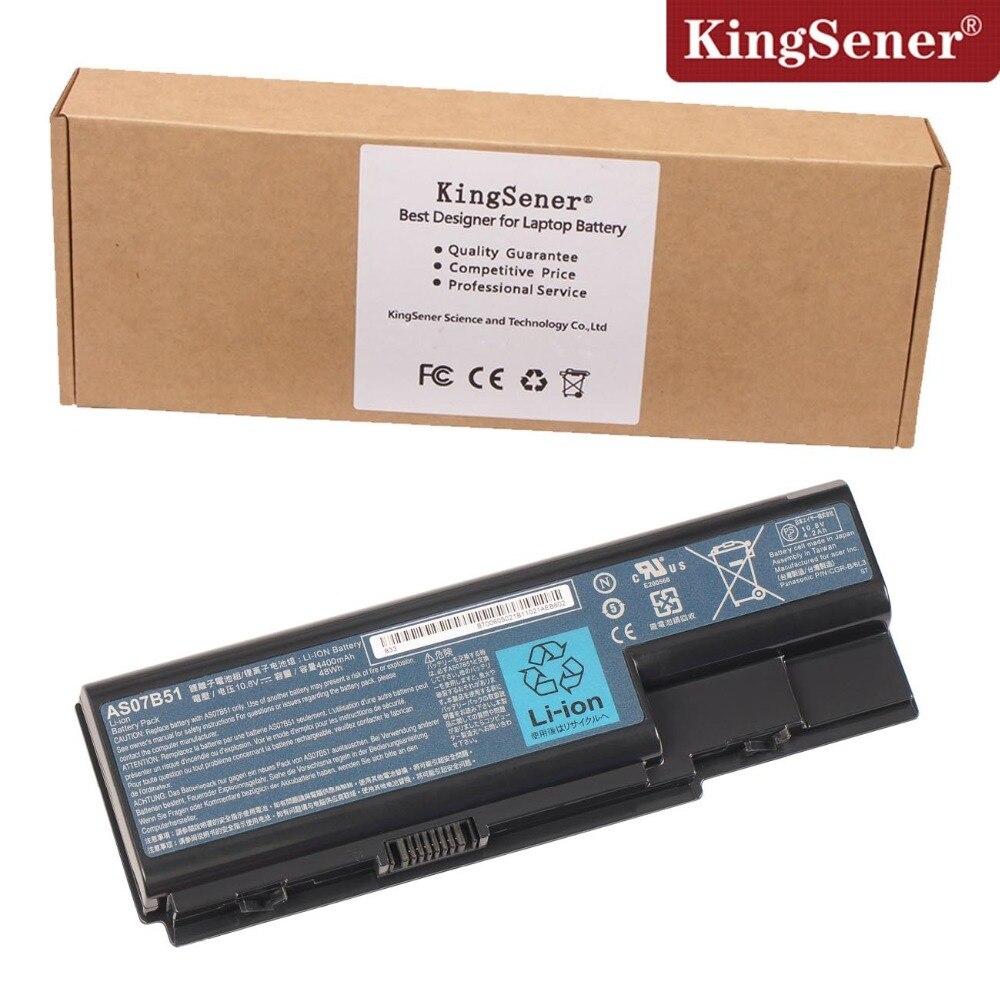 KingSener AS07B51 laptop battery For Acer Aspire  5520G 5710 5715Z 5720 5739 5920 5920G 5930 AS07B31 AS07B61 10.8V 4400mAh