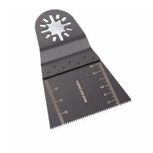Image 2 - 10 قطعة الخشب ثنائية المعادن الدقة شفرات المنشار ل فين بوش ماكيتا Bosch متعددة الوظائف الخشب منشار قطع المعادن شفرات متعددة الوظائف أداة