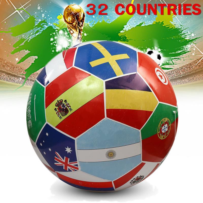 Гигантские надувные Футбол Модель ПВХ Диаметр 2 м 2018 Футбол Кубка мира 32 стран с 4 Fixed веревки празднование